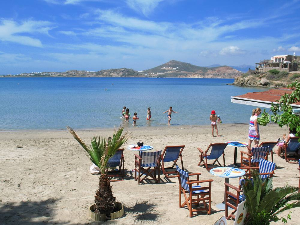 Naxos Hotel Kymata At Saint George Beach In Town Hora